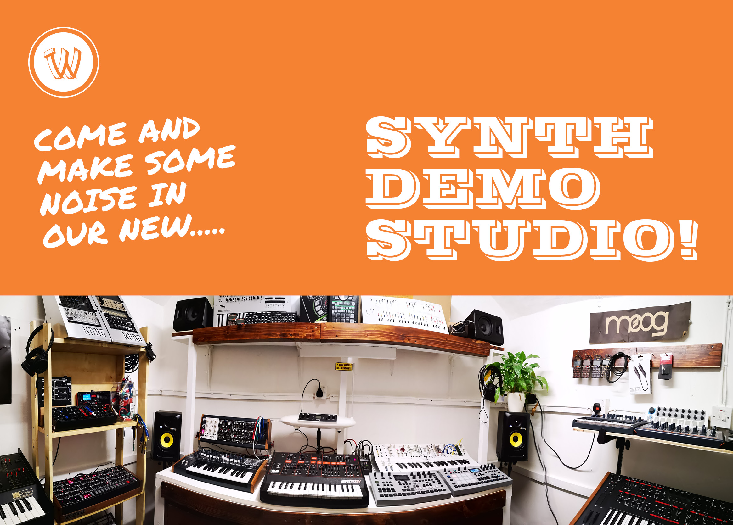 Synth Demo Room