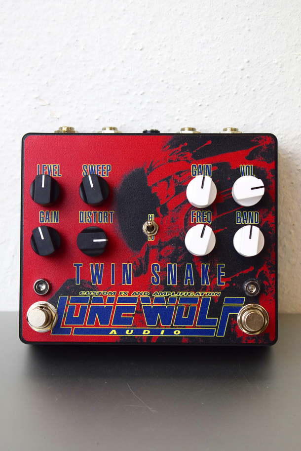 Twin Snake Dual Overdrive Pedal