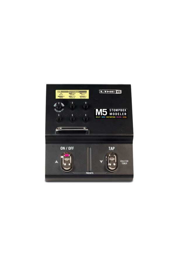 M5 Stompbox Modeler Guitar Multi Effects Pedal