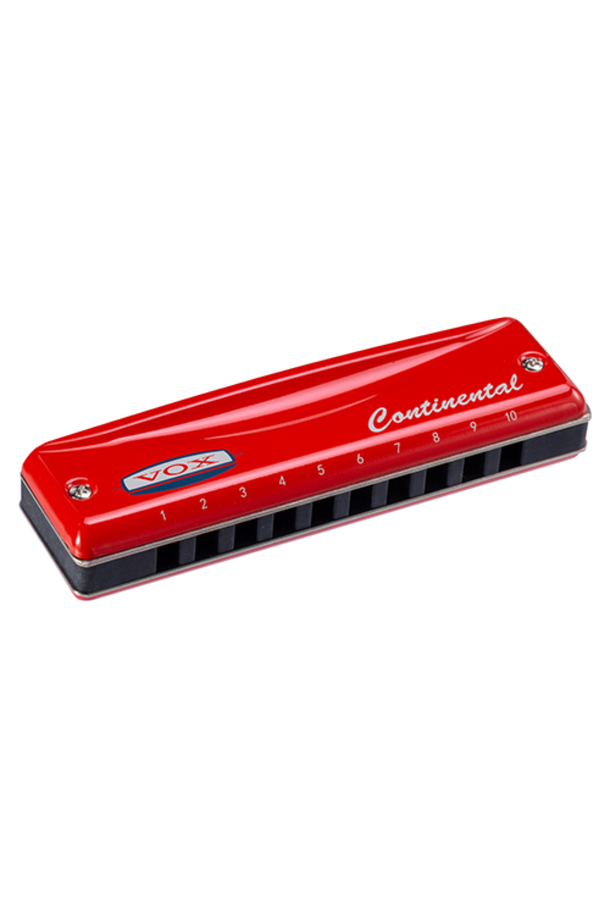 Continental Red Harmonica