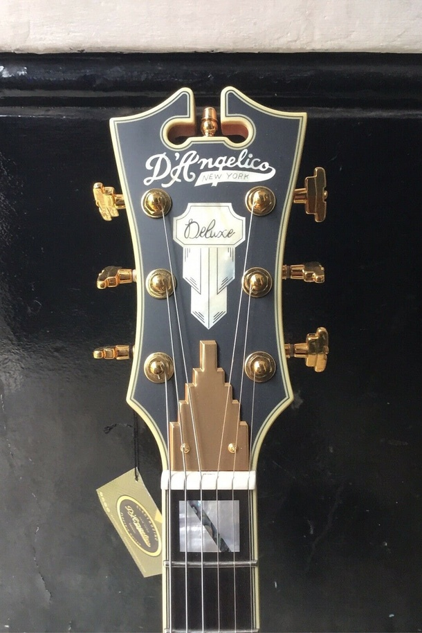 Deluxe DC Tremolo Rose Gold